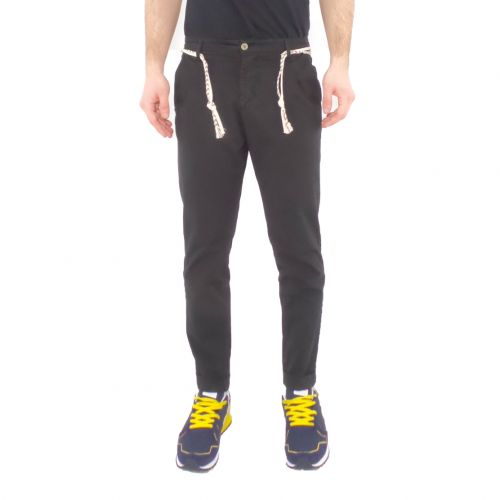squad2 RIO 810 pantalone uomo nero
