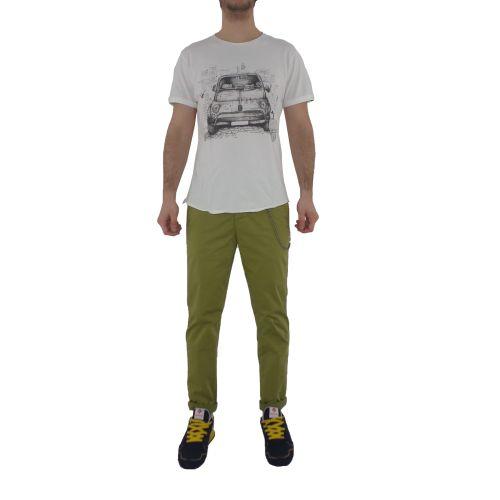 berna M 210141 24 t-shirt uomo latte