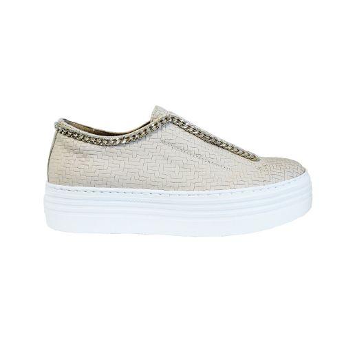 crown 2651 CATENA PANERO/BIANCO sneakers donna bianco