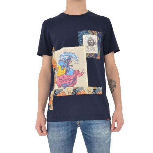 koon 6666 U t-shirt uomo blu