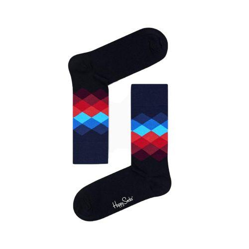 happy socks FADED DIAMOND SOCK/U 069 calzini uomo multicolor