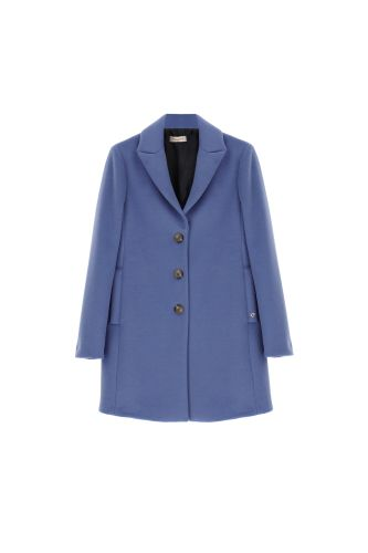 please cappotto donna azzurro K493INATAS