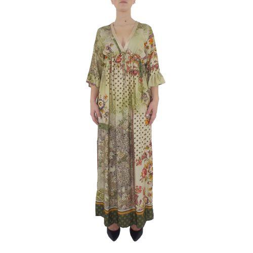 dixie AGCRPHR 1998 abito donna verde
