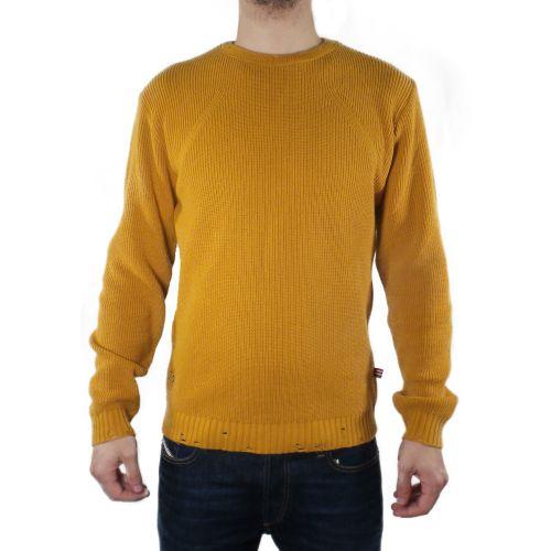 tematico TW21050 SENAPE maglia uomo senape