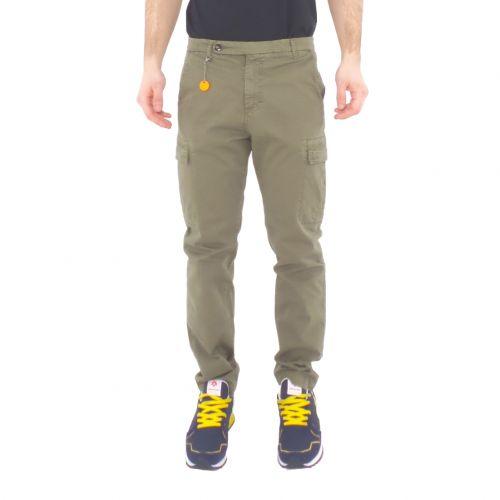 squad2 SANTORINI 805H pantalone uomo verde