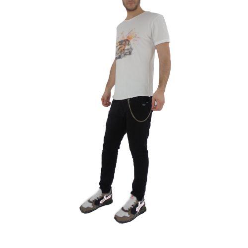berna M 210138 24 t-shirt uomo latte