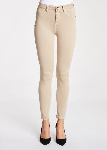 gaudi pantalone donna beige 121BD25002