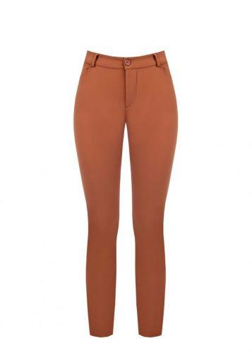 rinascimento CFC0099366003 B267 pantalone donna marrone