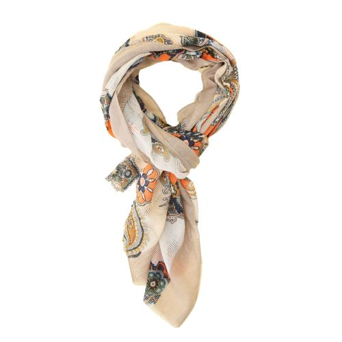 imperial foulard donna beige 947811407