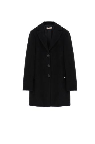 please cappotto donna nero K493INATAS