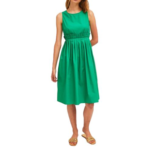 compania fantastica SS21HAN51 VERDE abito donna verde
