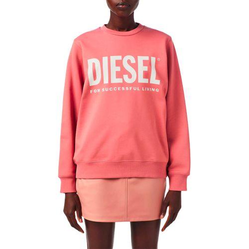 diesel felpa donna rosa F-ANGS-ECOLOGO
