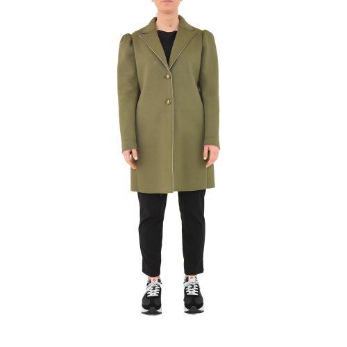 please cappotto donna militare beige S493HMAIRA