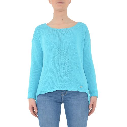 please M49775051 1600 maglia donna azzurro