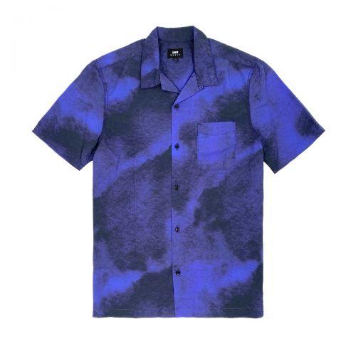 edwin blue haze shirt ss uomo camicia I029314