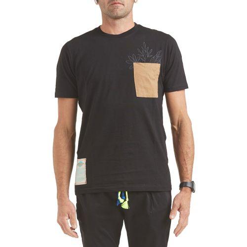 tematico t-shirt uomo nero TS21.021