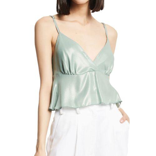gaudi blusa donna verde 111FD45027