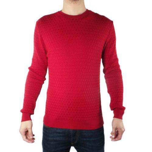 diktat DK87027 ROSSO RUBINO maglia uomo rosso