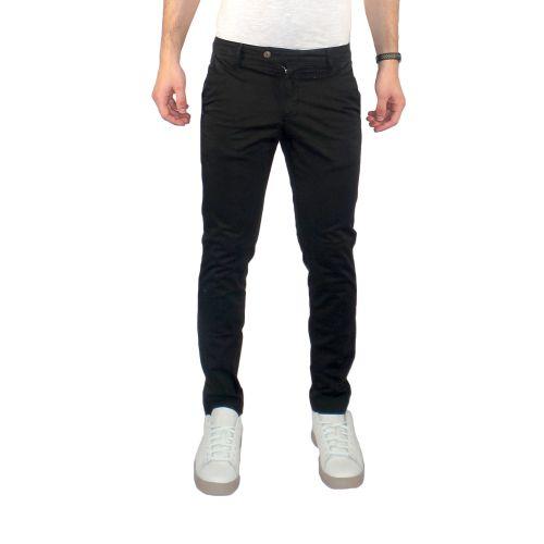 squad2 RKC9069 601 pantalone uomo nero