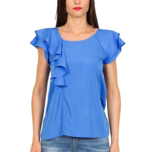 molly bracken blusa donna blu PV107E21