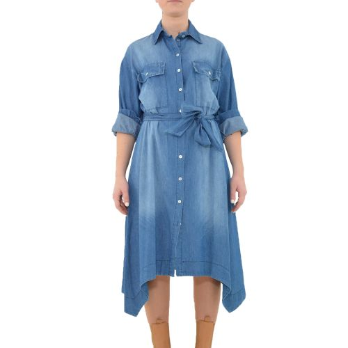 bighet 3617/09 DENIM MEDIO abito donna denim