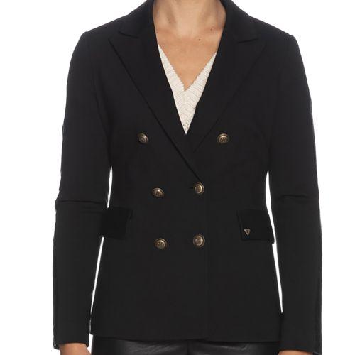 please giacca donna nero J493INICA