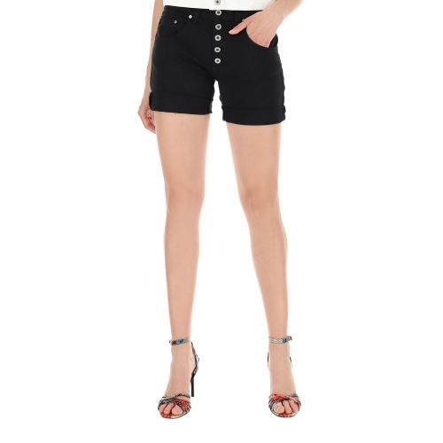 please shorts donna nero P88ACV9N3N