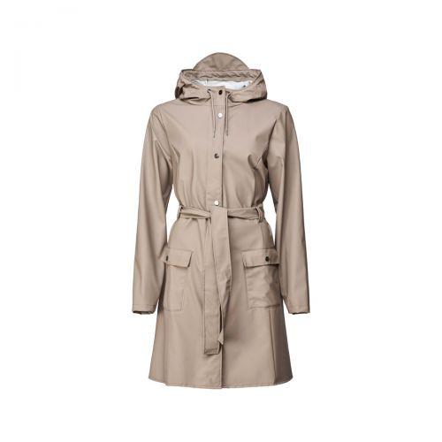 rains curve jacket donna capospalla 1206