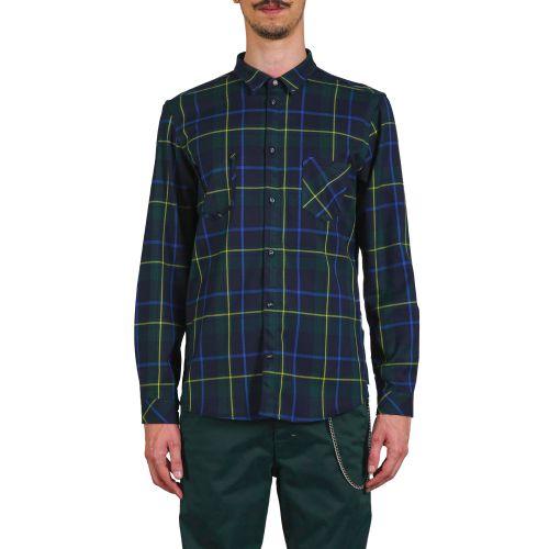 berna camicia uomo verde M 215135