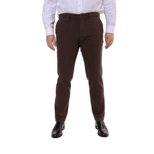 Uzes Uomo Pantalone Marrone