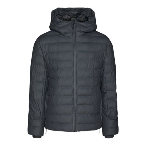 rains trekker hooded jacket uomo capospalla 1528