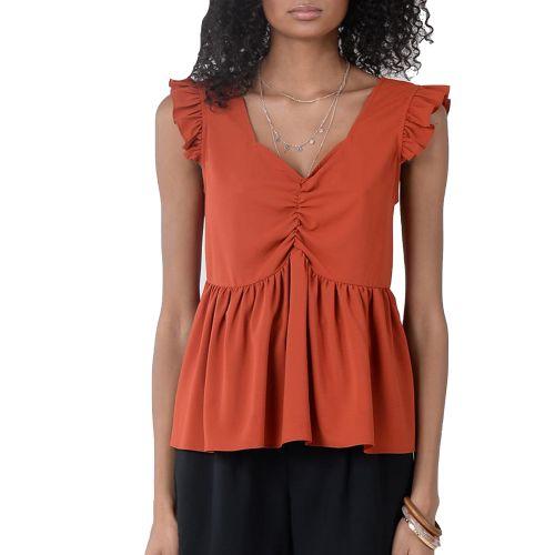 molly bracken LA666AE21 RUST blusa donna rosso