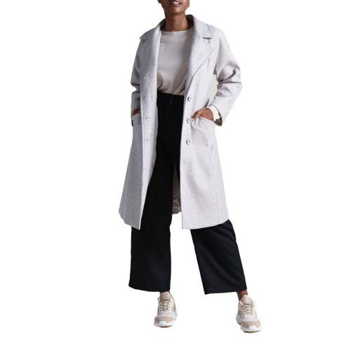 molly bracken cappotto donna beige PV49H21