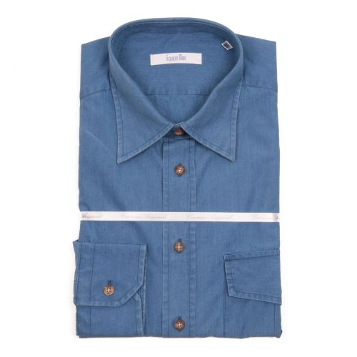 Equipe Man Uomo Camicia Blu