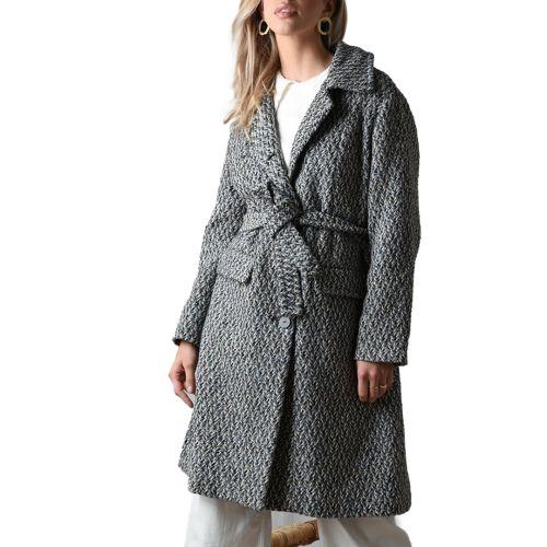 molly bracken cappotto donna blu PV82AH21