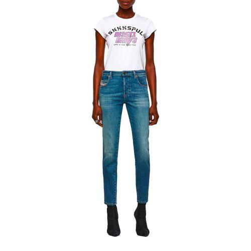 diesel jeans donna denim medio BABHILA