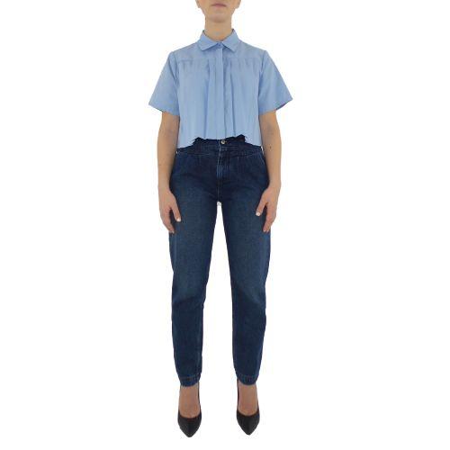 dixie C836R060 1500 camicia donna celeste