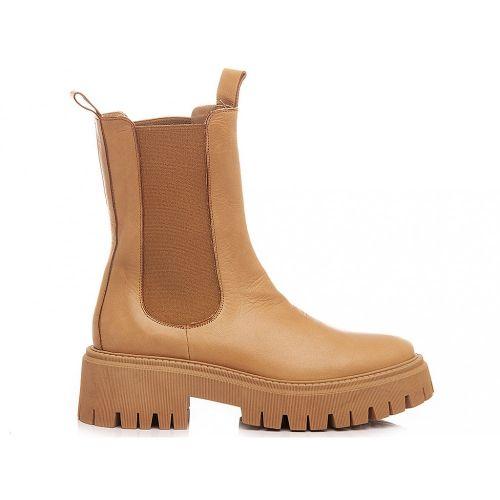 crown BEATLS BT CUOIO scarpe donna cuoio