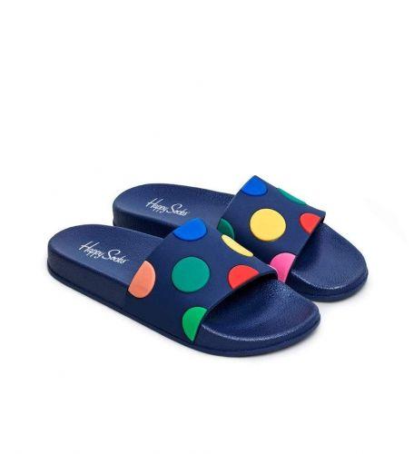 happy socks POOL SLIDER DOT/U 6301 ciabatta uomo blu