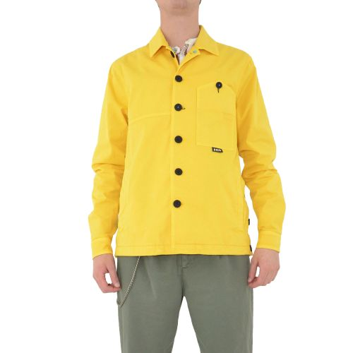 berna M 210013 5 giacca uomo giallo