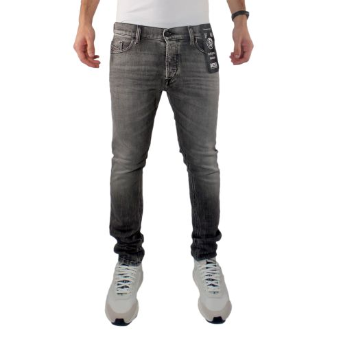 diesel jeans uomo denim nero TEPPHAR-X
