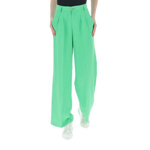 vicolo pantalone donna verde TH1793