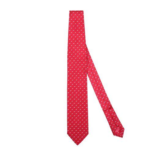 Brioni Uomo Cravatta Rosso