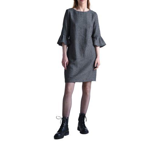 molly bracken abito donna nero T1045A21