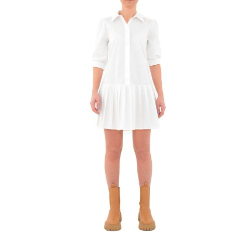 berna W 212045 2 abito donna bianco