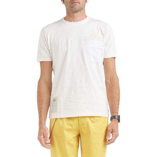 tematico TS21.021 OFF-WHITE t-shirt uomo bianco