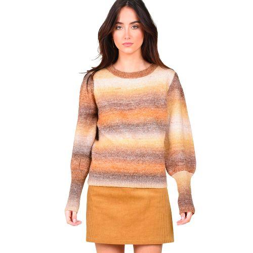 molly bracken maglia donna cammello LA883A21