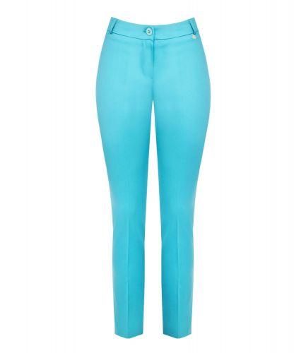 rinascimento CFC0103655003 TURCHESE pantalone donna azzurro