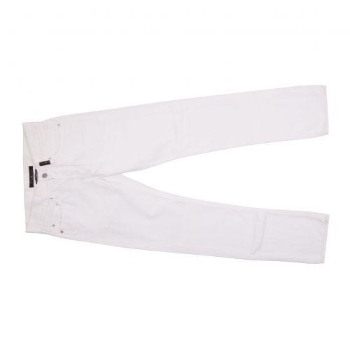 Stone Island Uomo Pantalone Bianco