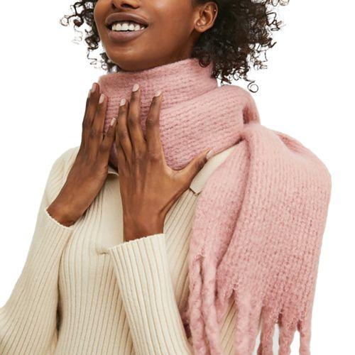compania fantastica sciarpa donna rosa antico FA21SCR05